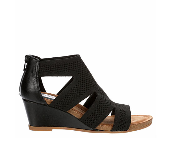 Womens Sancia Caged Wedge
