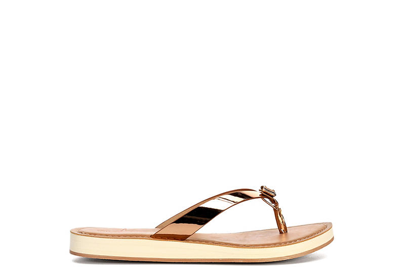 BLUEFIN Womens Millie Flipflop Thong Sandal - ROSE GOLD