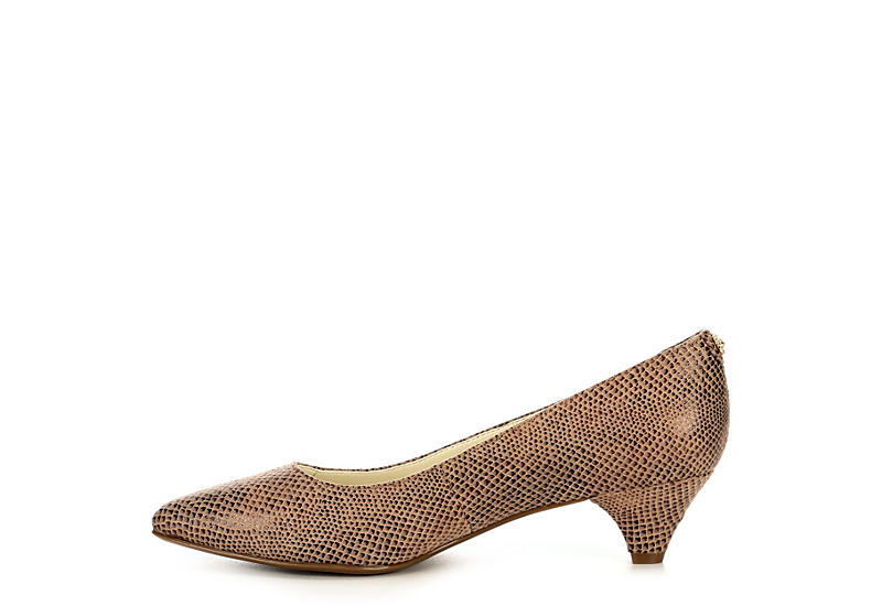 ANNE KLEIN Womens Xeni Pump - NATURAL