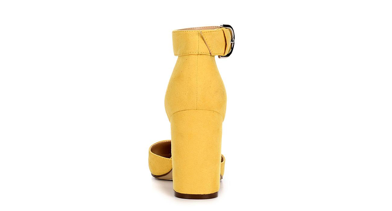UNISA Womens Kinli Pump - YELLOW