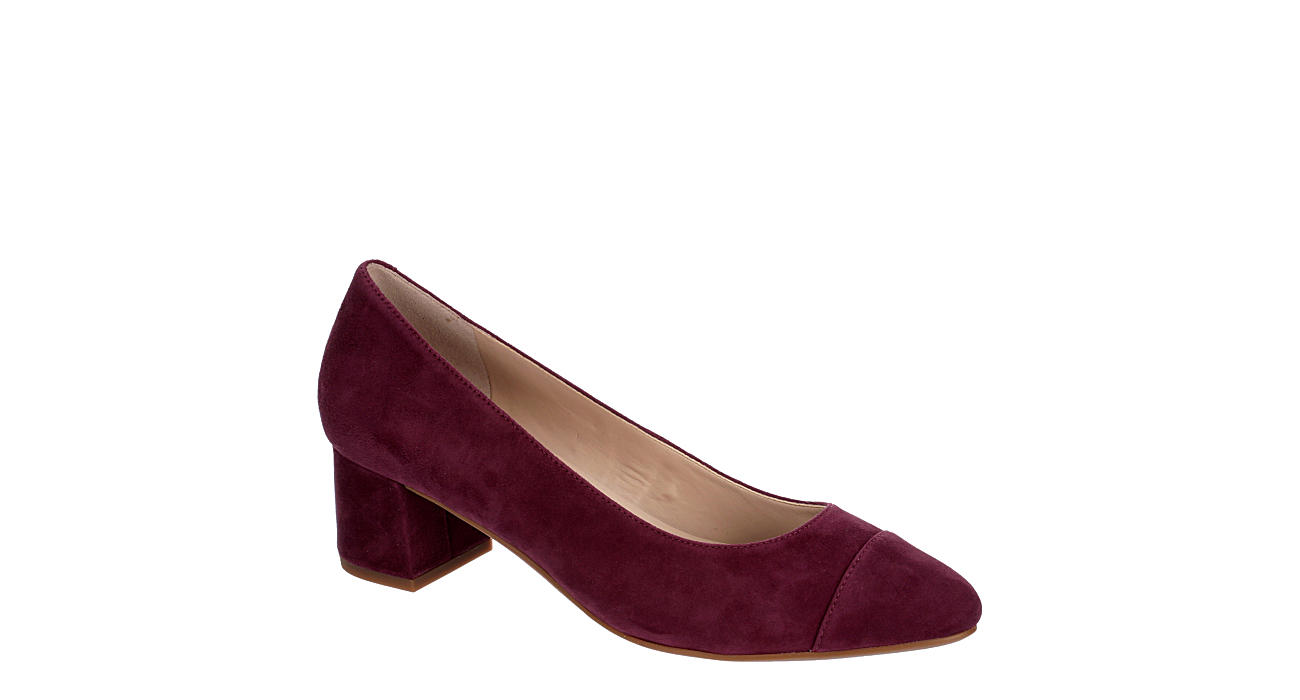 Wine Cole Haan Womens Go To Pump Dress Off Broadway Shoes