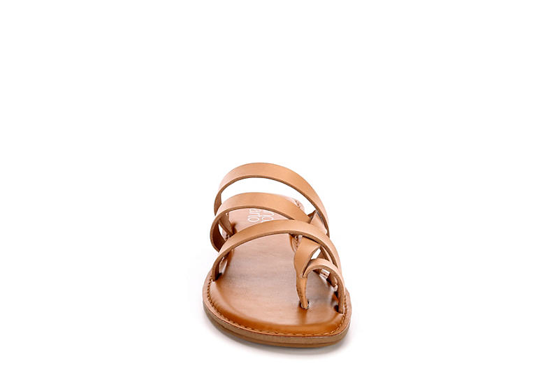 FRANCO SARTO Womens Gazania Slide Sandal - NUDE