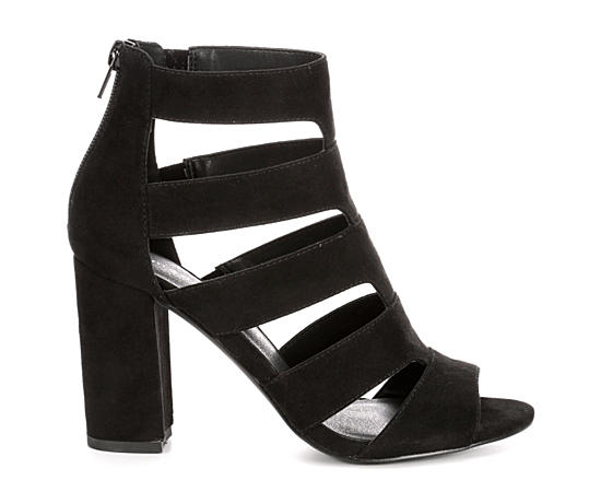 Womens Bolt Heeled Sandal
