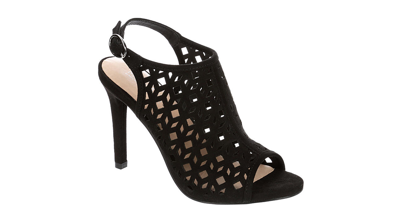 MICHAEL BY MICHAEL SHANNON Womens Allie Heeled Sandal - BLACK