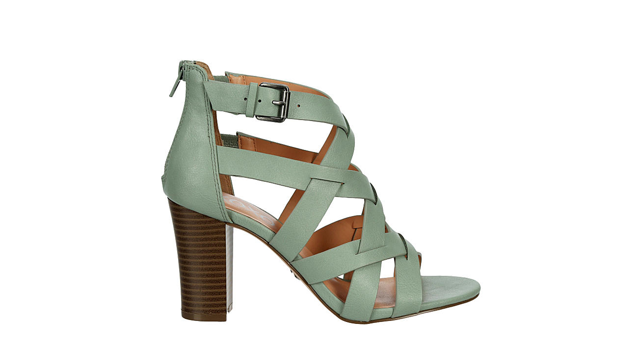 XOXO Womens Barcelona Sandal - GREEN