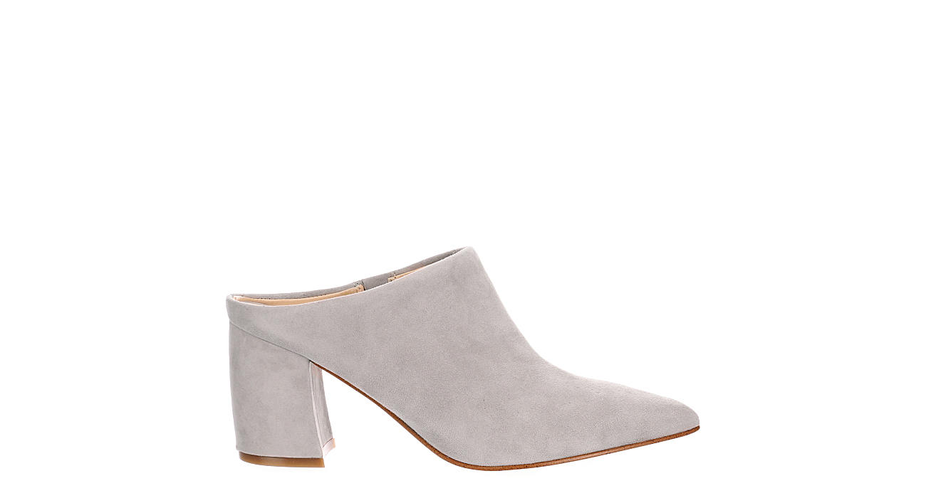 MARC FISHER Womens Ragni Pointed Toe Mule - GREY