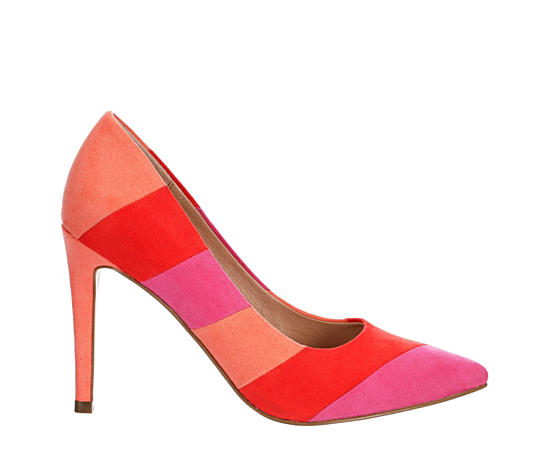 Womens Racer Pointed Toe Pump