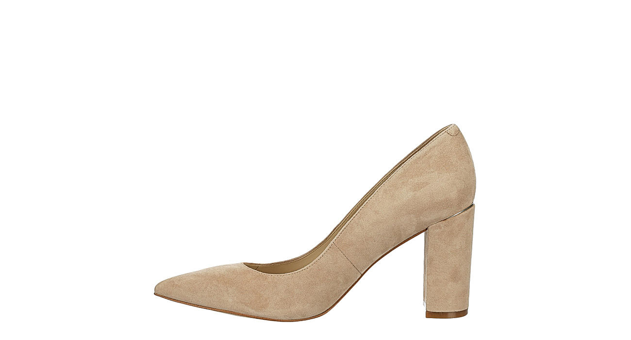 MARC FISHER Womens Vivienne Pointed Toe Pump - NUDE