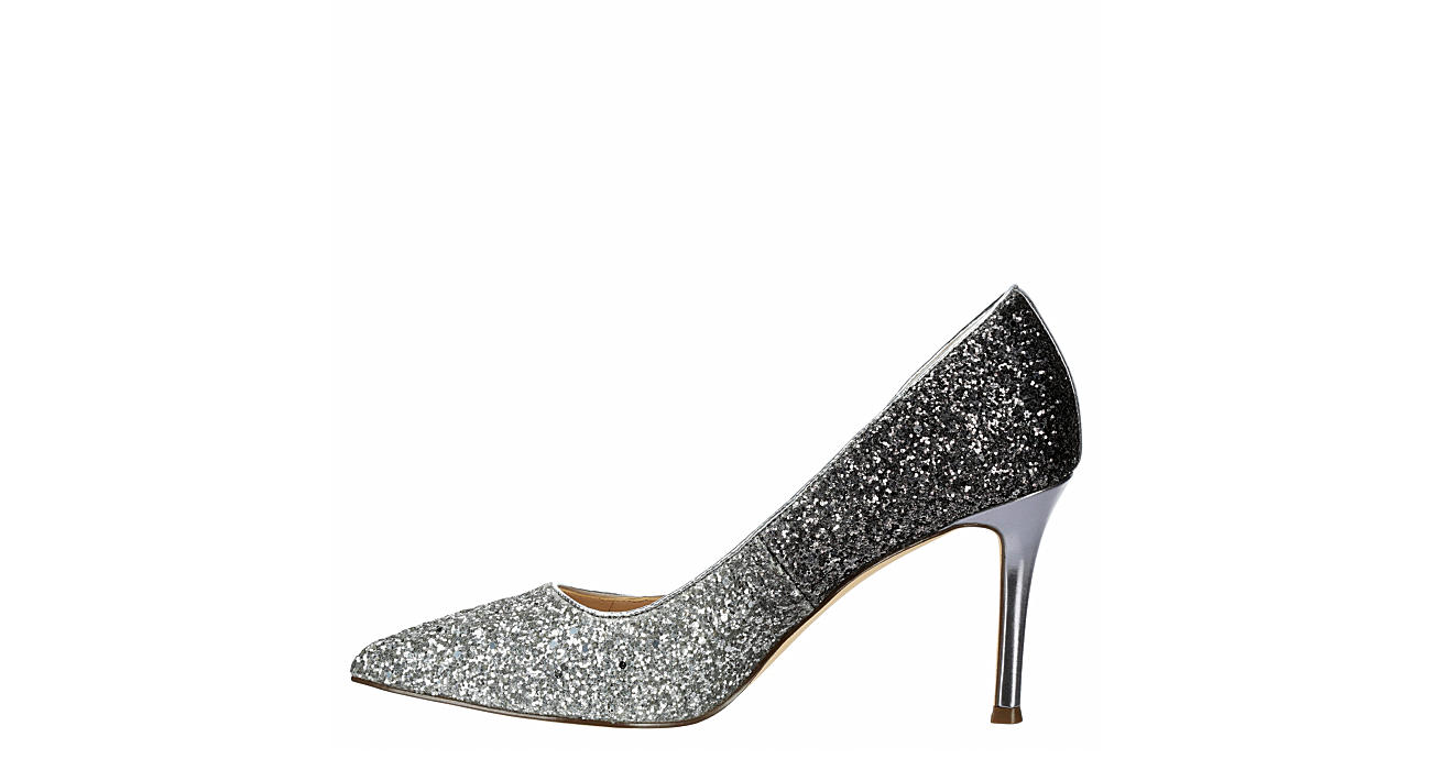 TOUCH OF NINA Womens Cher Pump - SILVER