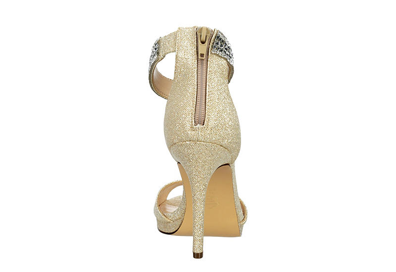 TOUCH OF NINA Womens Reana Sandal - CHAMPAGNE