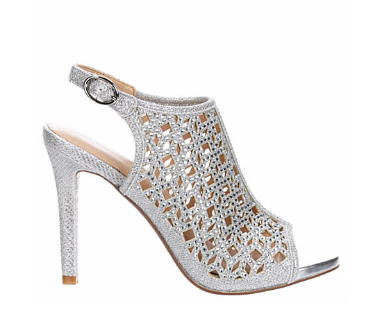 Womens Allie Heeled Sandal