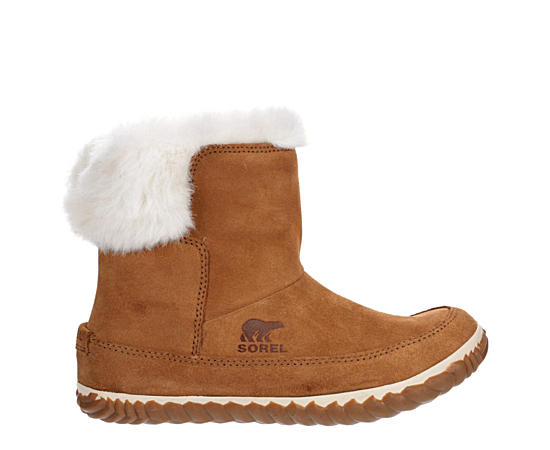 Womens Out N About Bootie Slipper