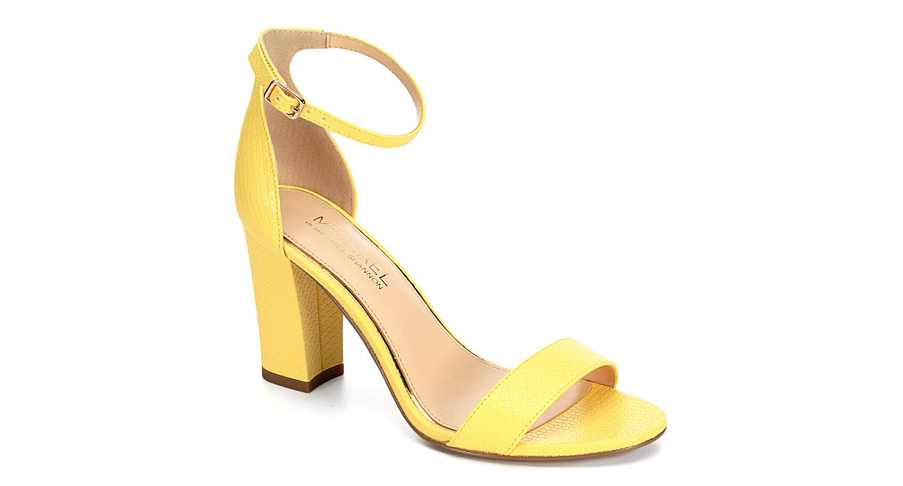 MICHAEL BY MICHAEL SHANNON Womens Sascha - YELLOW
