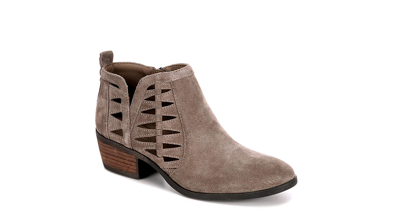 Taupe Michael By Shannon Womens Piper Boots Off Broadway Heart Leather