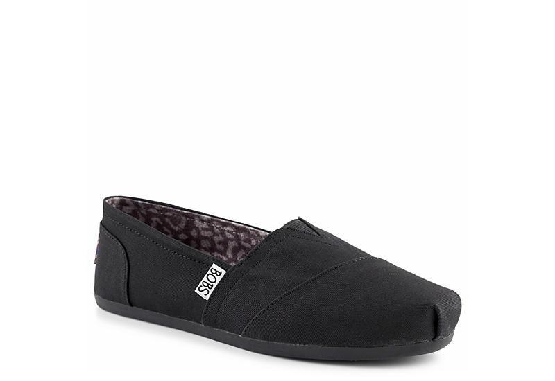 SKECHERS BOBS Womens Peace And Love - BLACK