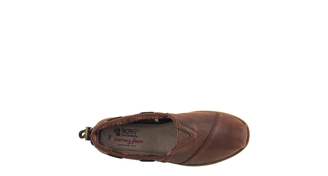 SKECHERS BOBS Womens Buttoned Up - BROWN