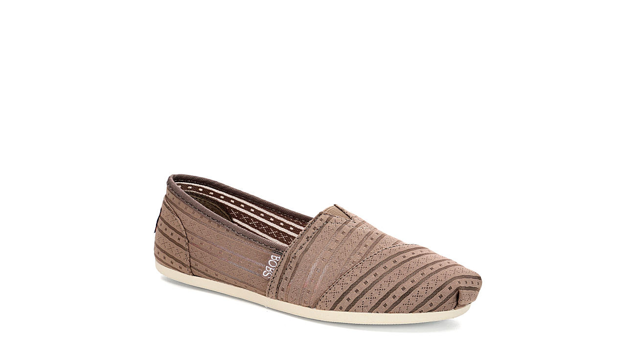 SKECHERS BOBS Womens Urban Rose - TAUPE