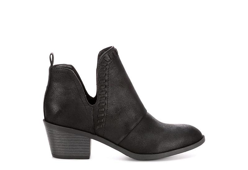 ROCK & CANDY Womens Lipton Ankle Bootie - BLACK