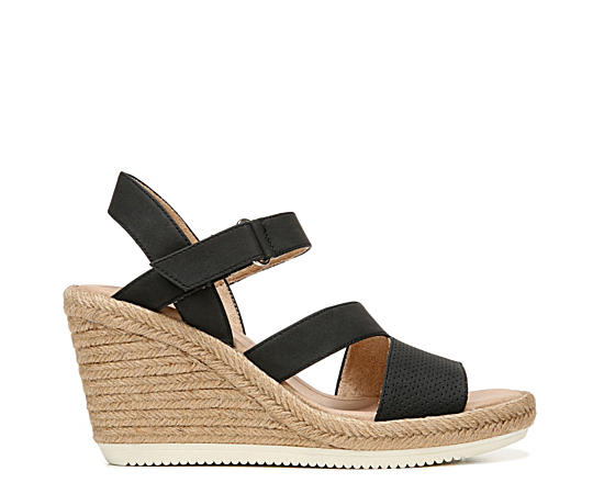 Womens Vanity Espardille Wedge Sandal