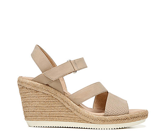 Womens Vanity Espardille Wedge Sanda