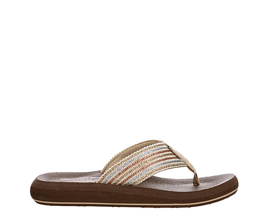 Womens Asana Lighthearted Thong Sandal