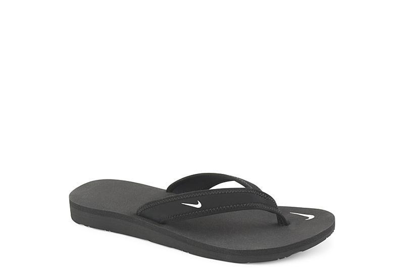 f3bc9a6bd Black Nike Celso Girl Women's Flip Flops | Off Broadway Shoes