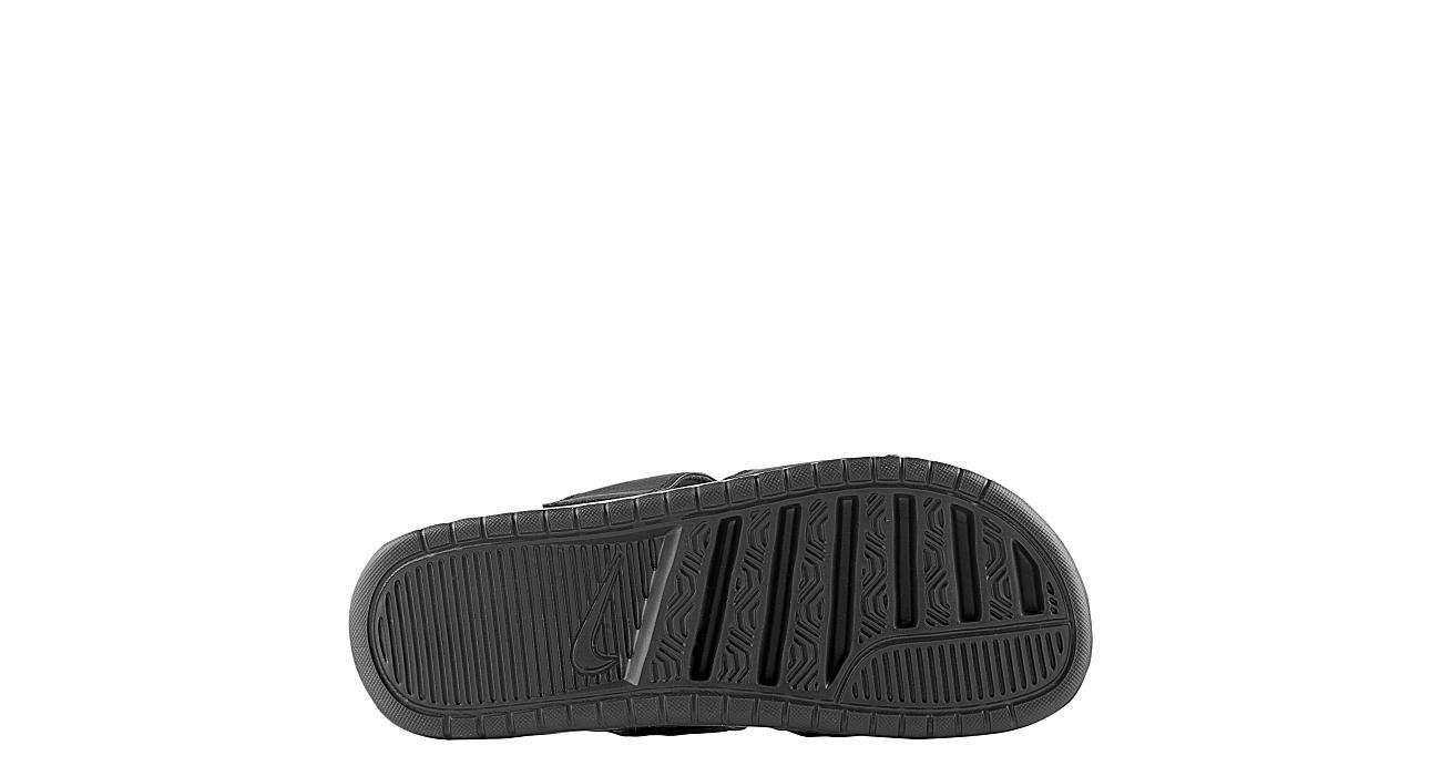 NIKE Womens Benassi Duo Ultra Slide Sandal - BLACK