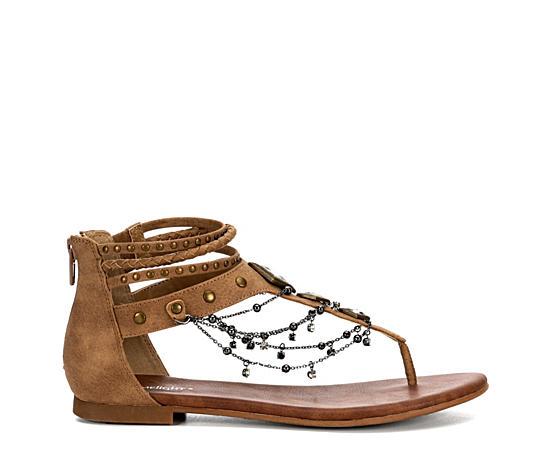 Womens Tiara Flat Sandal
