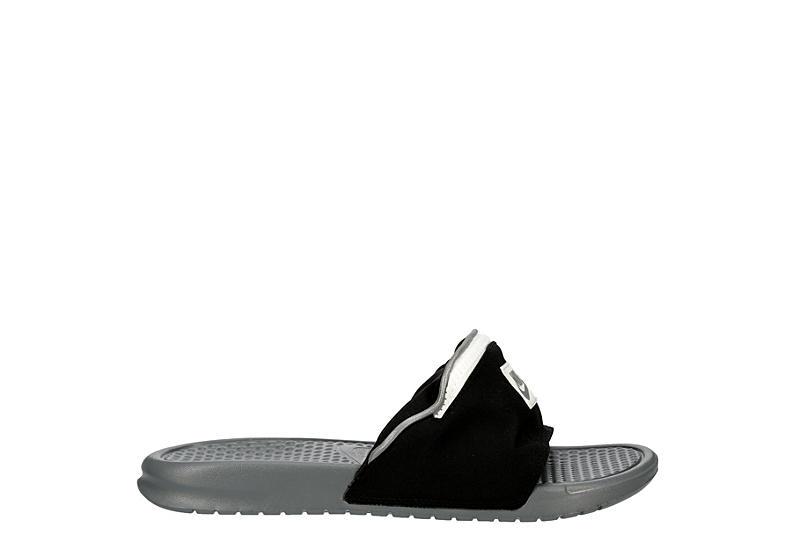 Nike Womens Benassi JDI Fan Slides Sandals