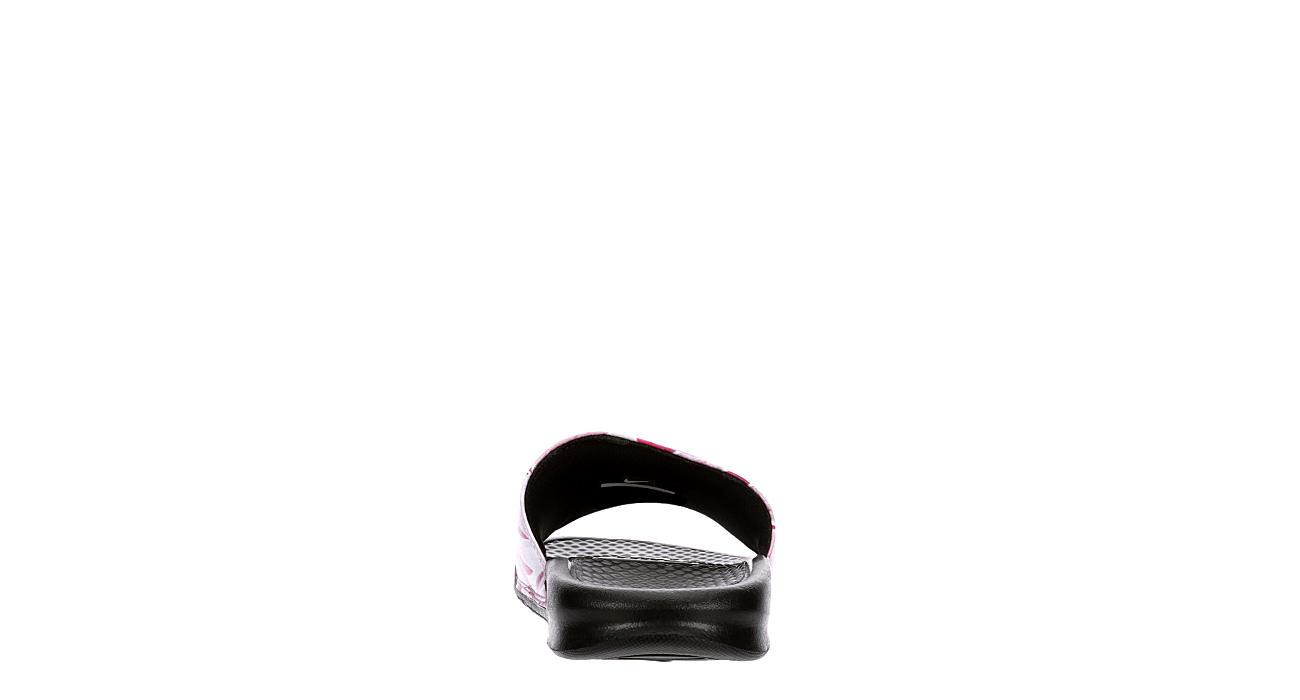 NIKE Womens Benassi Jdi Floral Slide Sandal - PURPLE