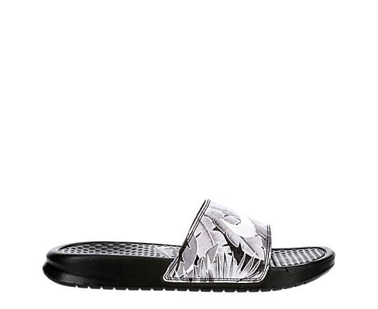 Womens Benassi Jdi Floral Slide Sandal