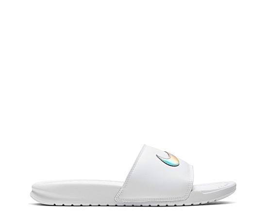 Womens Benassi Swoosh Slide Sandal