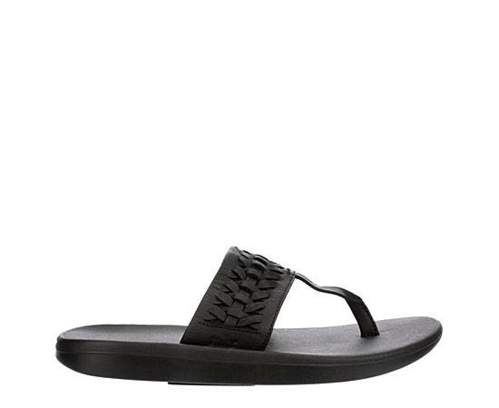 Womens Bella Kai Woven Thong Sandal