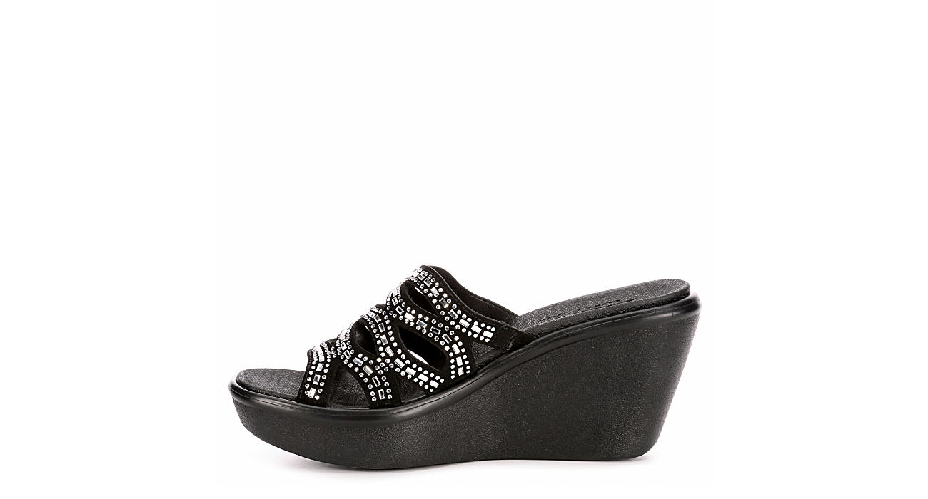 SKECHERS Womens Rumble Up Funny Business - BLACK