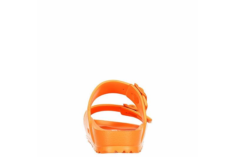 BIRKENSTOCK Womens Arizona Essentials Slide Sandal - ORANGE