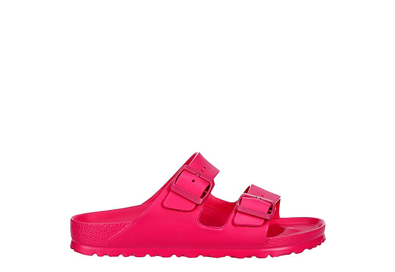 BIRKENSTOCK Womens Arizona Essentials Slide Sandal - PINK