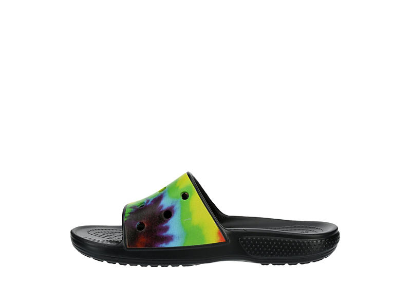 CROCS Womens Classic Slide Sandal - TIE-DYE