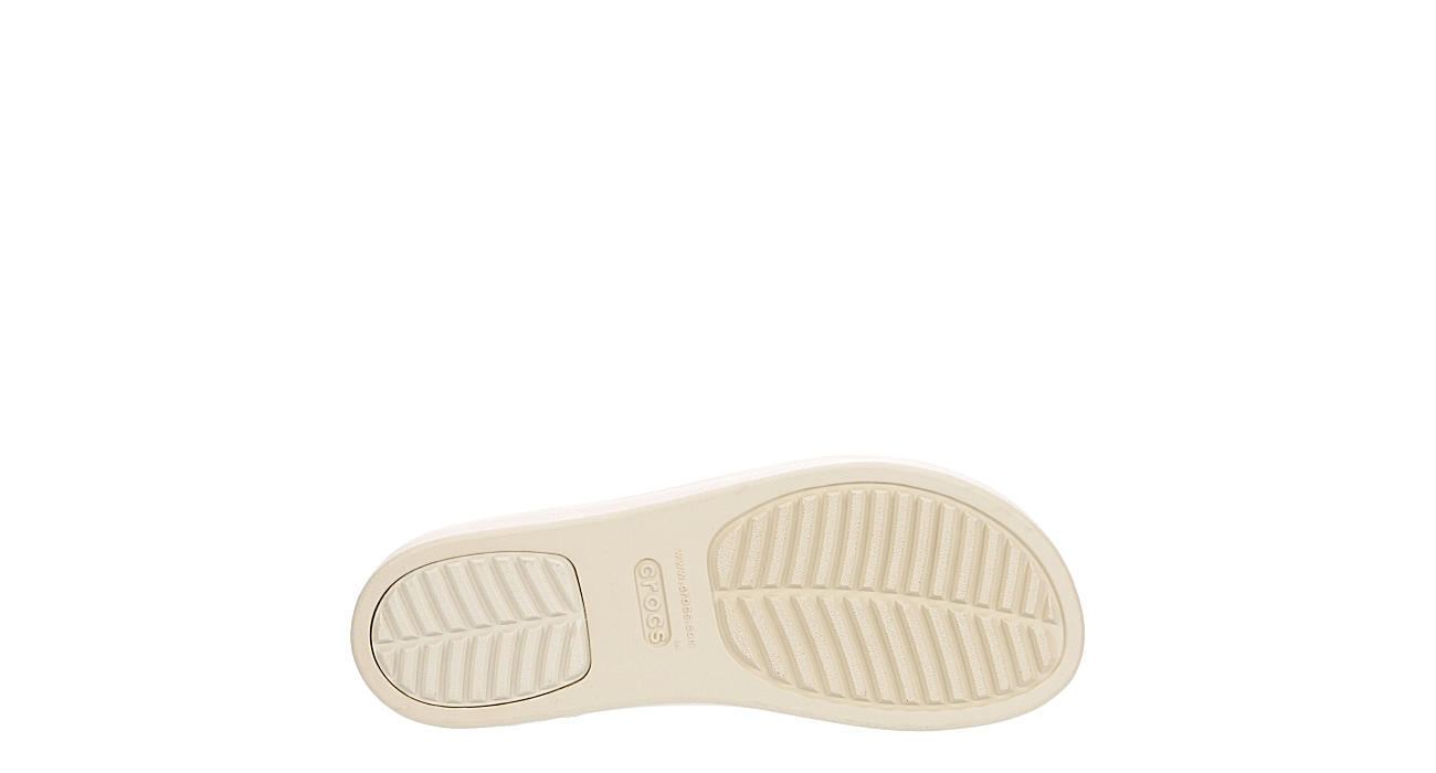 CROCS Womens Brooklyn Wedge Sandal - SNAKE