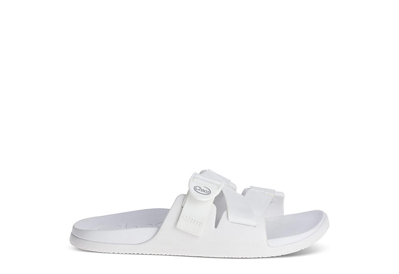 CHACO Womens Chillos Slide Sandal - WHITE