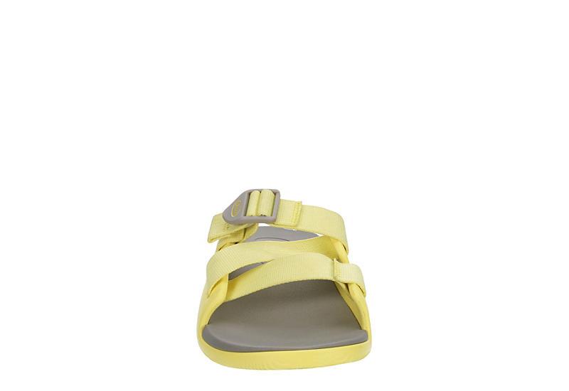 CHACO Womens Chillos Slide Sandal - YELLOW