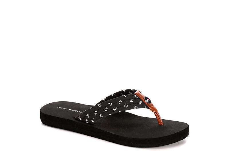 6feb84565b Black Tommy Hilfiger Womens Twcrems | Sandals | Off Broadway Shoes