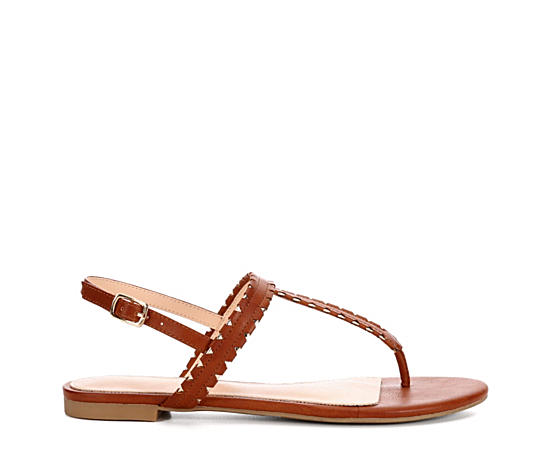 Womens Queen Flat Sandal