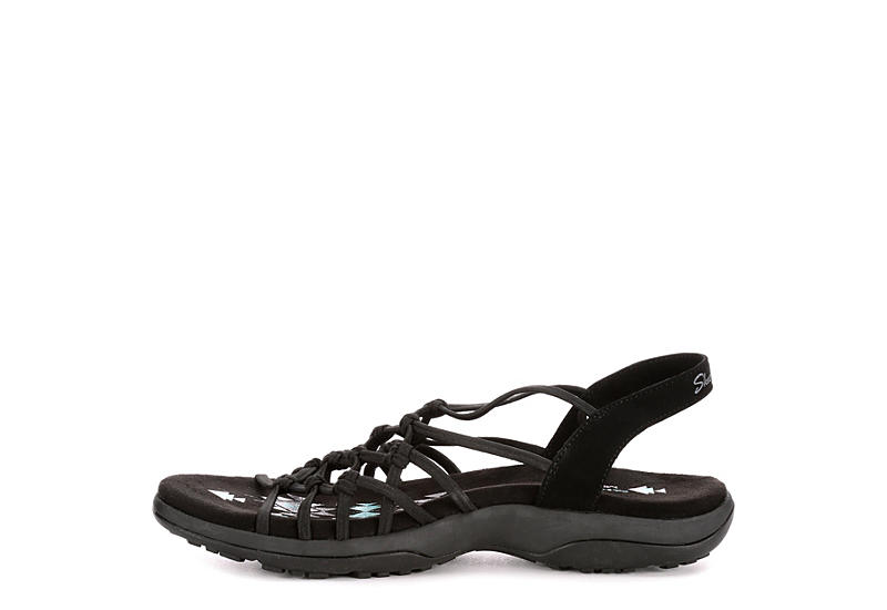 SKECHERS MODERN Womens Reggae Slim Forget Me Knot - BLACK