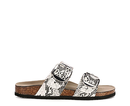 Womens Brinaa Footbed Slide Sandal