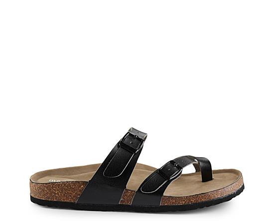 Womens Bryceee Footbed Slide Sandal