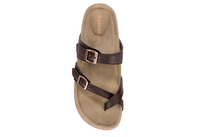MADDEN GIRL Womens Bryceee - DARK BROWN