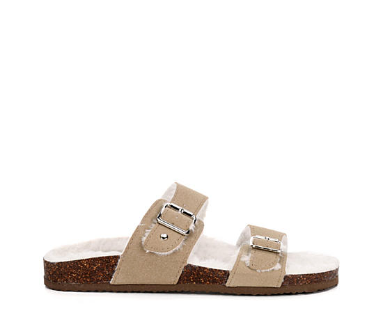 Womens Brando Footbed Slide Sandal