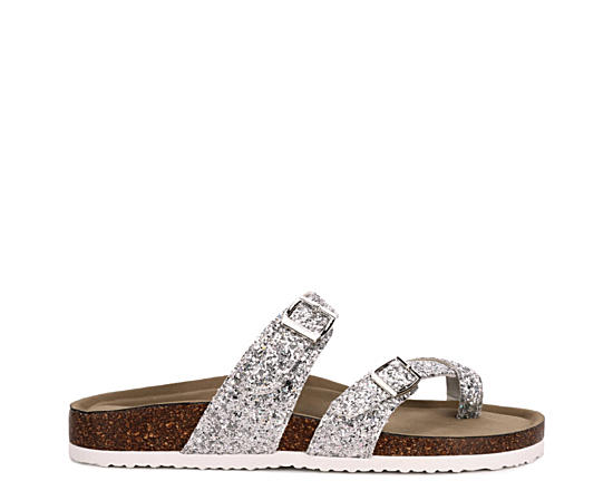Womens Bryceee Footbed Slide Sandal