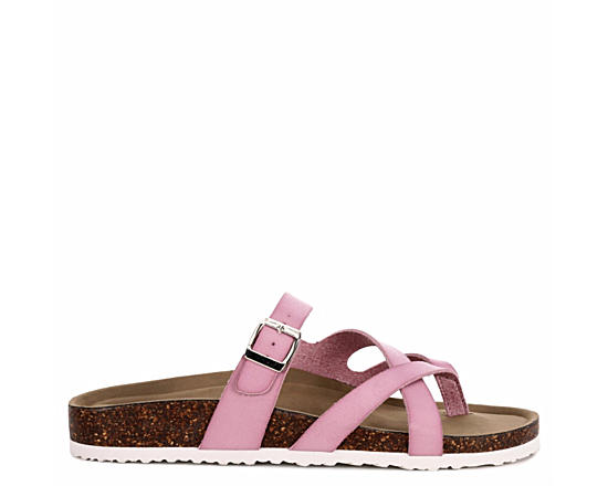 Womens Bartlet Footbed Slide Sandal