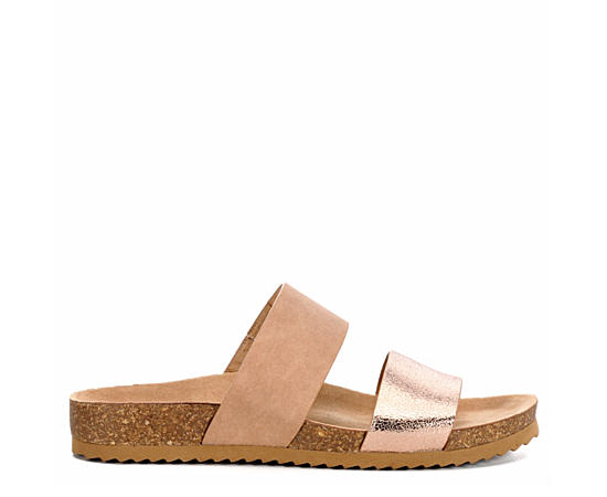 Womens Keke Footbed Slide Sandal